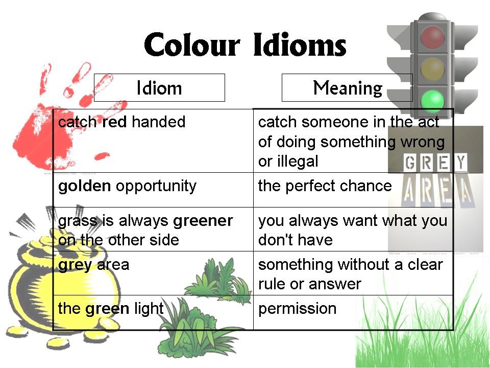 idioms examples and meanings - photo #26