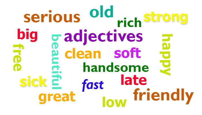 Learn replacements for everyday Adjectives - eAge Tutor
