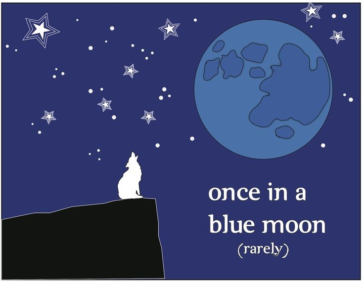 Idiom-blue-moon