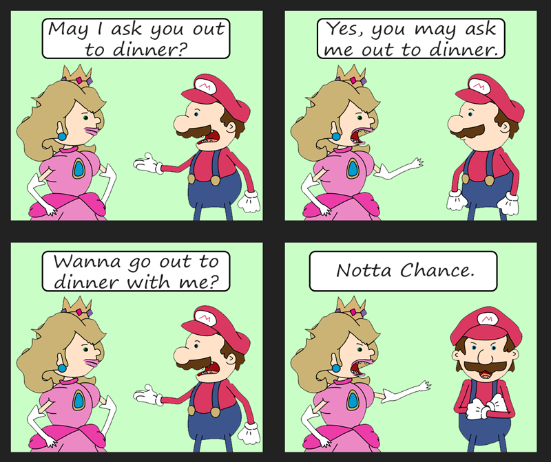 Mario-and-Peach-cartoon