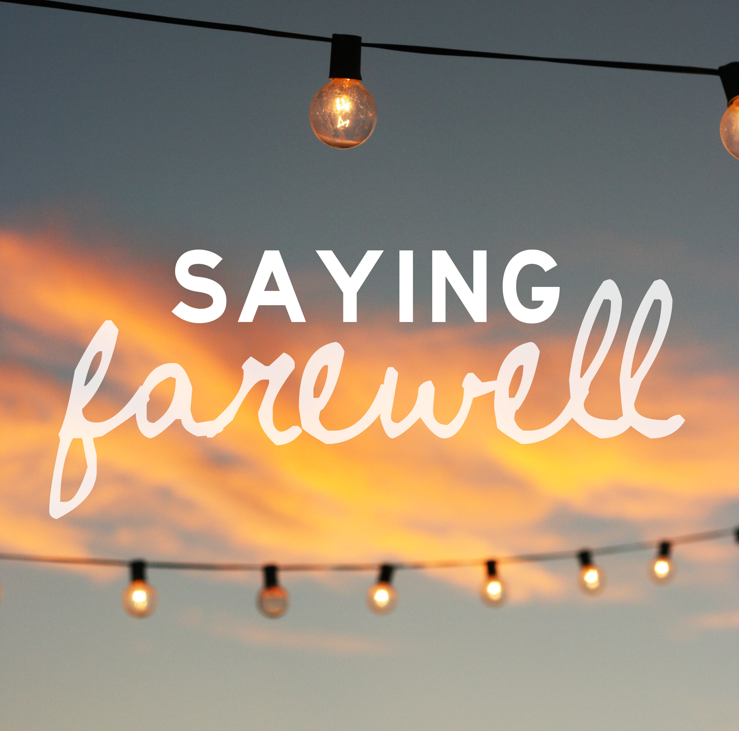 Saying-farewell