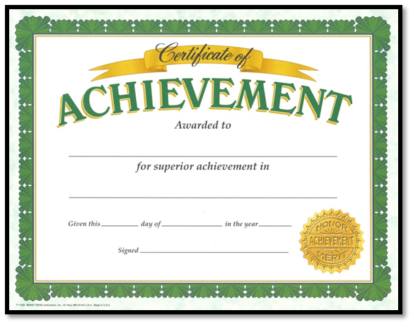 Certificate Of Acknowledgement Template. How To Express Your Happiness  While Receiving A Certificate .  Acknowledgement Certificate Templates