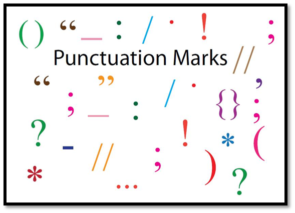 common punctuation marks