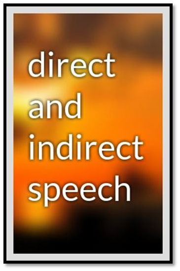 english-direct speech