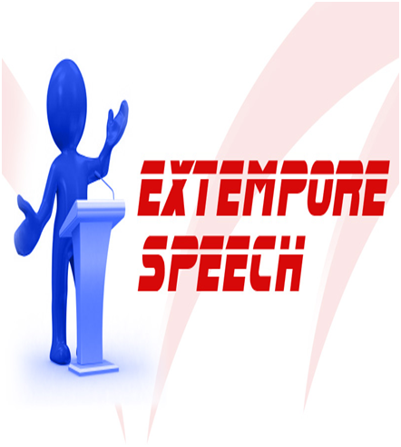 extempore speaking While some were convinced the prime minister had delivered an extempore  speech, like he usually does when he addresses public rallies.