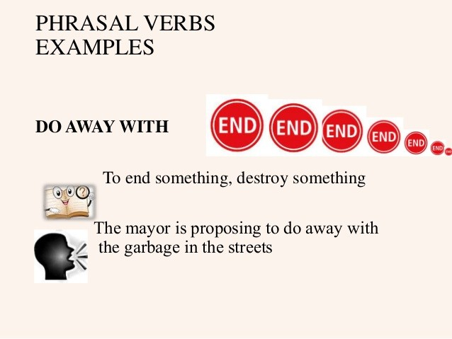 phrasal verb with do