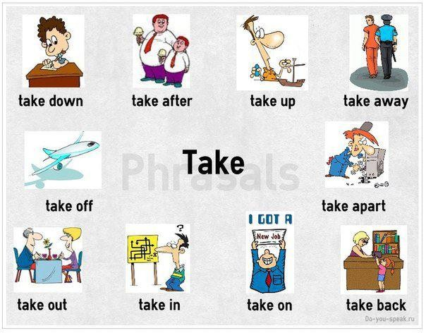 Phrasal Verbs with Take - eAge Tutor