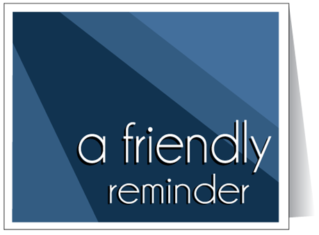 Displaying Items By Tag How To Write A Polite Reminder