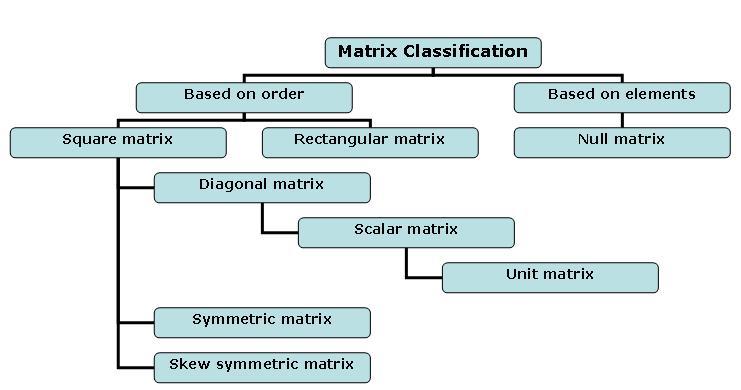 typesofmatrices1 types of matrices eage tutor
