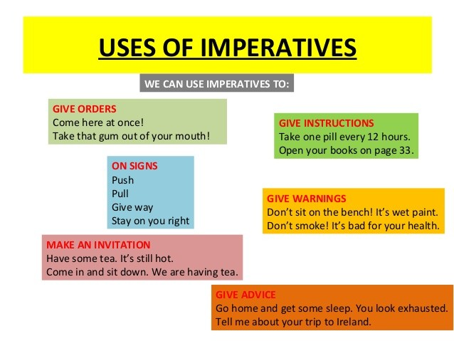 english grammar the imperative essay