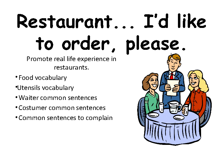 While Ordering